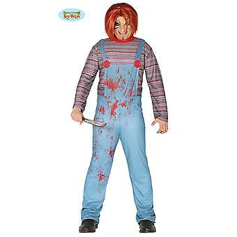 Guirca Killer Doll-Chucky Halloween disfraz hombres