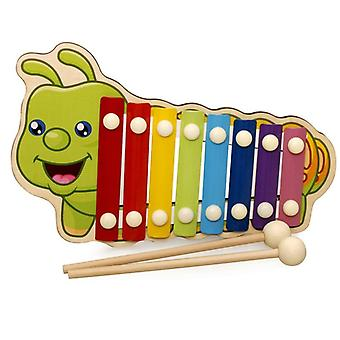 Wooden Xylophone Instrument For Children- Early Wisdom Development Education Kids Toys