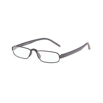 Reading Glasses Unisex Le-0163B Notary Brown Strength +2.50