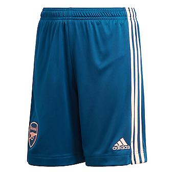 adidas Arsenal 2020/21 Kids Third Football Short Blue/Pink