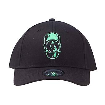 Frankenstein Baseball Cap Portrait Movie Logo new Official Black Strapback