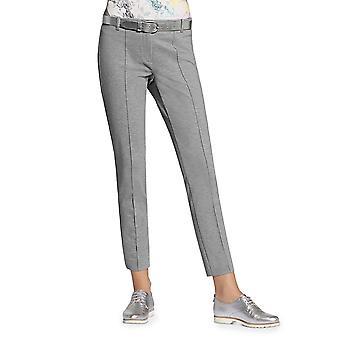 Basler | Lea Printed Cropped Skinny Pants