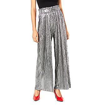 Be Bop | Pleated Metallic Pants
