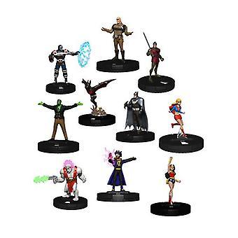 DC HeroClix Liga de la Justicia Ilimitado Booster Brick (Pack de 10)