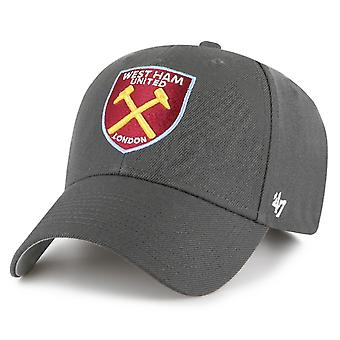 47 Brand Relaxed Fit Cap - West Ham United charcoal