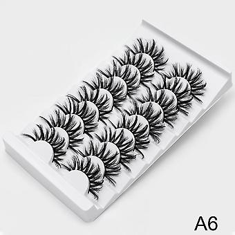 Natural 3d False Eyelashes - Fake Lashes Makeup Kit , Lashes Extension