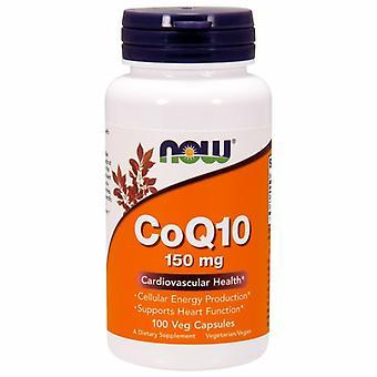 الآن الأطعمة CoQ10، 150 ملغ، 100 قبعات الخضار