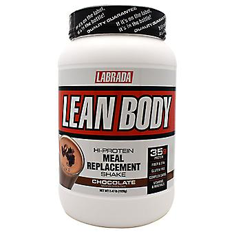 LABRADA NUTRITION Lean Body Meal Replacement Formula, Chocolate Ice Cream 2.47 lb