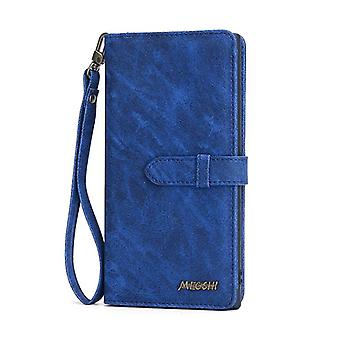 Leather Case for Samsung Galaxy S7 Blue nanhaihengpin-34