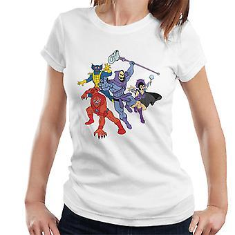 Masters of the Universe Skeletor Evil Lyn Et Al Women's T-paita