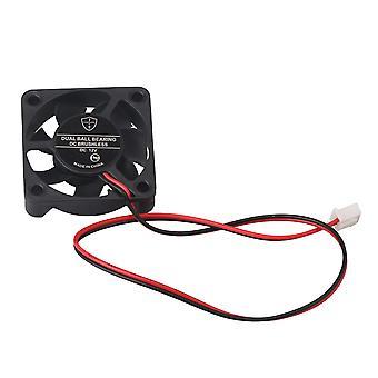 12V DC könnyű négyzet alakú műanyag hűtő ventilátor nagy konverziós alkatrészek fekete