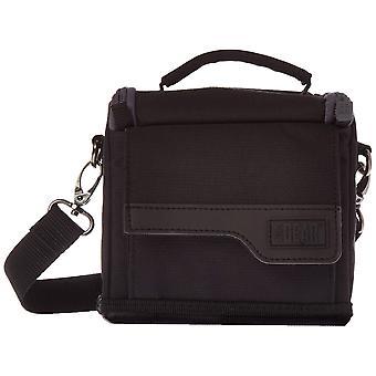 Weather-resistant compact digital camera bag & travel case w/ adjustable dividers & shoulder strap -