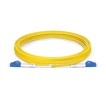 Microbeam Lc Lc Os1 Os2 Singlemode Fiber Optic Cable Yellow