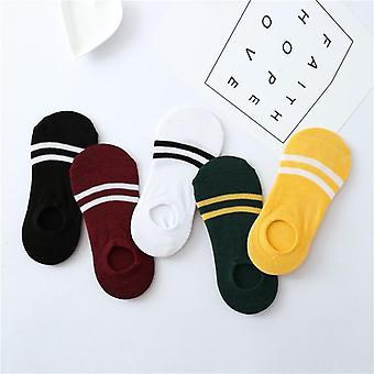 Stripe bomull sokker, Kvinnelig sommer
