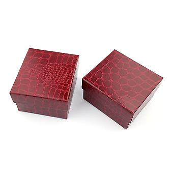 Luxurious And  Refined Crocodile Durable Present Box For Bracelet, Bangle,