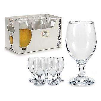 Luminá Cristal transparente de vidro (6 peças) (8 x 16,5 x 8 cm)