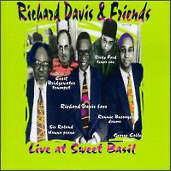 Richard Davis & Friends - Live at Sweet Basil [CD] USA import
