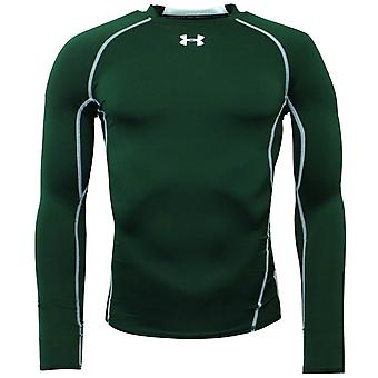 تحت درع HeatGear ضغط رجال صالة الألعاب الرياضية التدريب الأخضر الأعلى 1257471 301