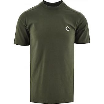 MA.STRUM Green Short Sleeve Icon T-Shirt