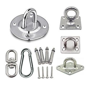 Stainless Steel Suspension Bracket Hammock Mount Ceiling Hook Anchor Hanger