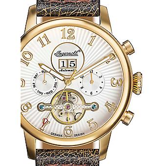 Mens Watch Ingensoll IN1103GWH, Automatique, 45mm, 10ATM