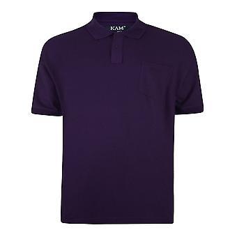KAM Jeanswear Plain Polo Shirt