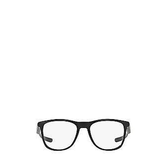 أوكلي OX8130 نظارات سوداء غير لامع للجنسين