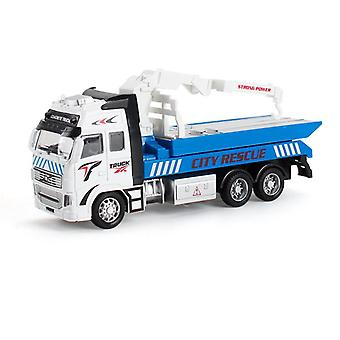 Diecast Metal Realistic City Rescue Truck Toy