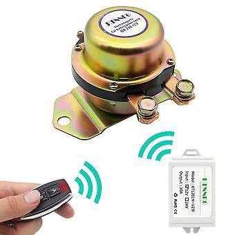 KTNNKG Auto Batterie Schalter Wireless Fernbedienung Disconnect Latching Relais Elektromagnetische Magnet