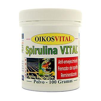 Spirulina Vital Oikos Powder 100 g