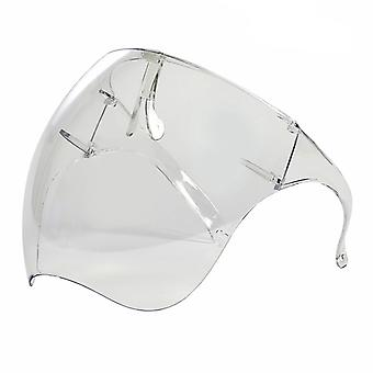 Lunettes Full Face Covering, Protective Face Shield Reusable Goggle Shield, Facial Protection And Mouth Shield, Face Covering Safety Face Shields Face