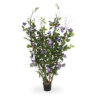 Keinotekoinen Clematis pensas 125 cm violetti