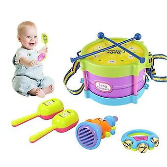 5pcs Drum Trumpet Music Percussion Instrument Band Kit