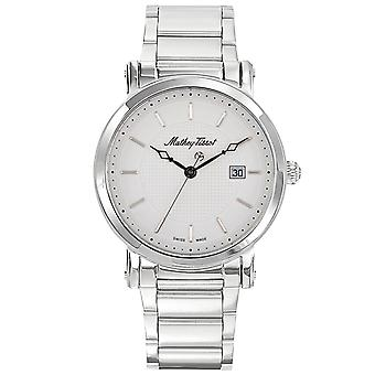 Mathey Tissot Men's City Metal White Dial Watch - H611251MAI