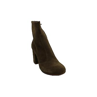 Steven by Steve Madden Womens Lorenza Leather Closed Toe Ankle Chelsea Boots