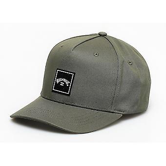 Billabong Herren Snapback-Mütze - gestapelte Olive