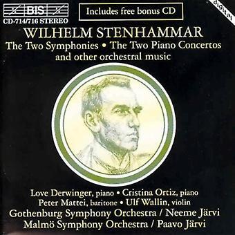 Wilhelm Stenhammar - Stenhammar: Symfonier; Pianokonserter, Etc. [CD] USA import
