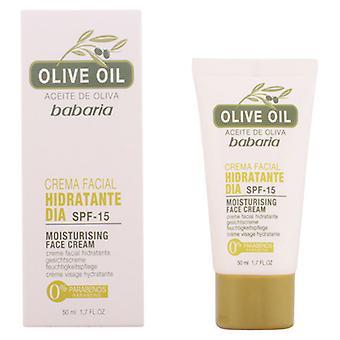 Babaria Moisturizing Day Cream SPF 15 mit Olivenöl 50 ml
