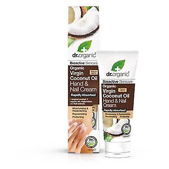 Dr. Organic Handcreme und Nägel aus Bio Kokosöl