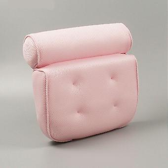 Bathtub Headrest Spa Neck Back Cushion Foam Pillow