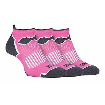 3 Pack Ladies Trainer Sport Socks