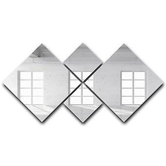 Valkoinen tiiliparvi ikkunakankaalla
