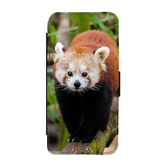 Red Panda Samsung Galaxy A72 5G Wallet Case