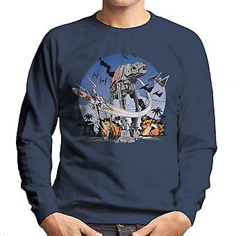 Star Wars Rogue One Battle Of Scarif Men's Sweatshirt