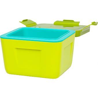 lunchbox double-walled 700 ml polypropylene green