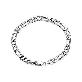 Classic Diamond-cut Figaro Chain Ecliptic Anklet