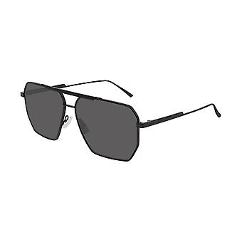 Bottega Veneta BV1012S 001 Black/Grey Sunglasses