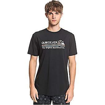 Quiksilver Stone Cold Classic - T-Shirt - T-Shirt - Manner - XS - Schwarz
