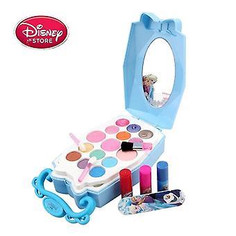 Disney Princess Frozen Makeup Toy Set Kids Beauty's Simulation Dressing Table