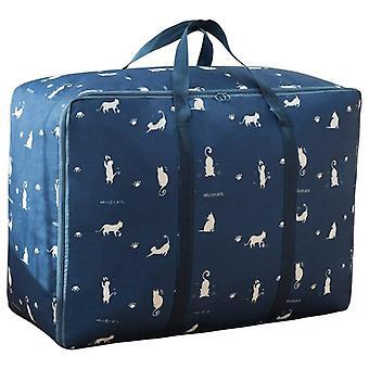 1 Piece Printing Quilt Storage Bag Dustproof Toy Closet Organizer|Foldable Storage Bags